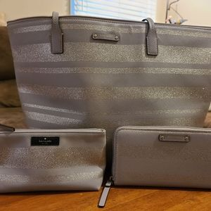 Authentic Kate Spade Tote set